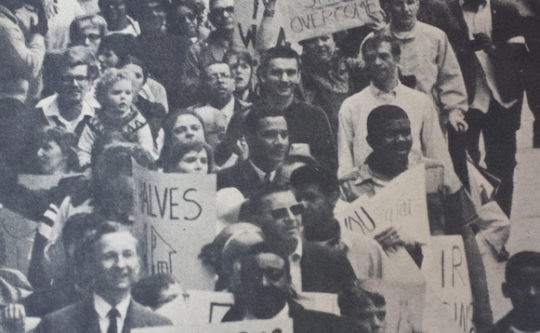 April 1968: Evanston in the Wake of King's Death: the Fight for Fair Housing